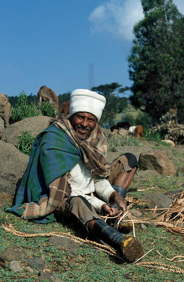 Ethiopian herdsman, Northern Ethiopia