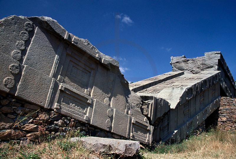 Fallen Stele, Aksum, Northern Ethiopia