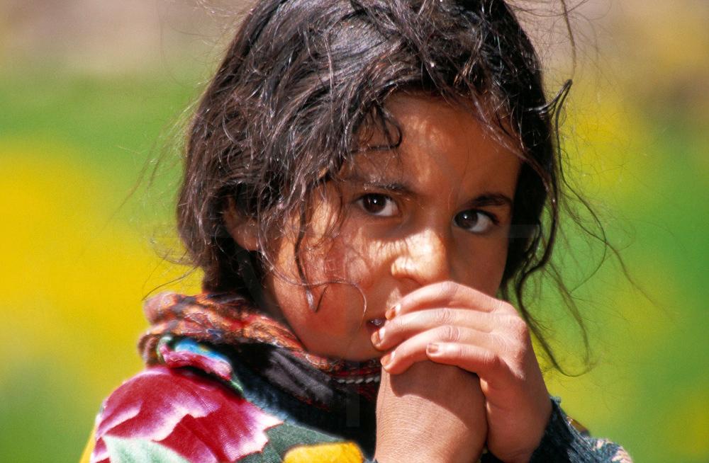 Berber girl, M'Goun area, High Atlas, Morocco