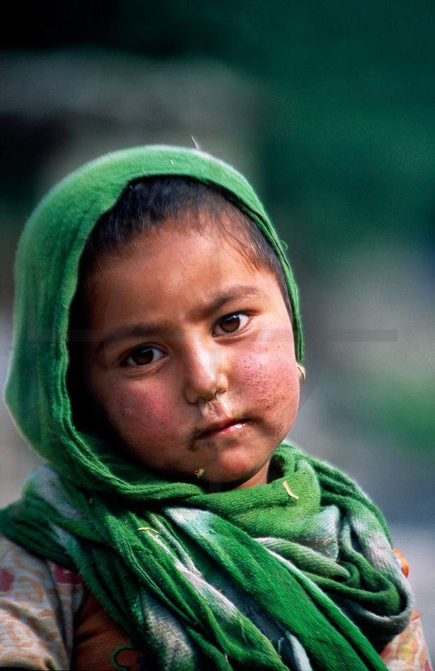 Child, Hushe, Baltistan, Pakistan