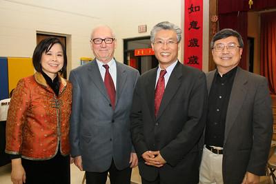 Nancy Pu-Chou (Chairperson of CACC), John Pastor (Delaware Economic Development Office), Jeffrey Wang 王志發 (Taipei Economic and Cultural Representative Office, TECRO), Dr. Ben Hsu (CFO QPS)