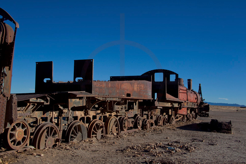Train cemetry, Uyuni, Potosí, Bolivia