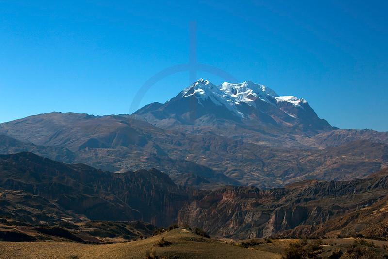 Illimani, Cordillera Real, Bolivia