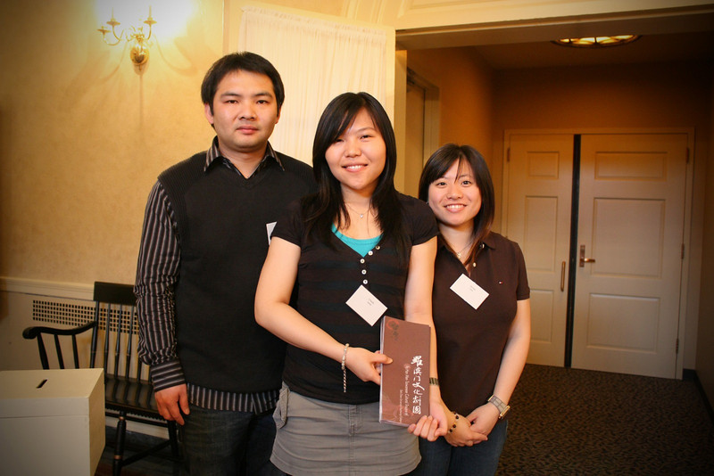 Ushers from the Taiwanese Students Association 德拉瓦大學台灣同學會 at the University of Delaware
