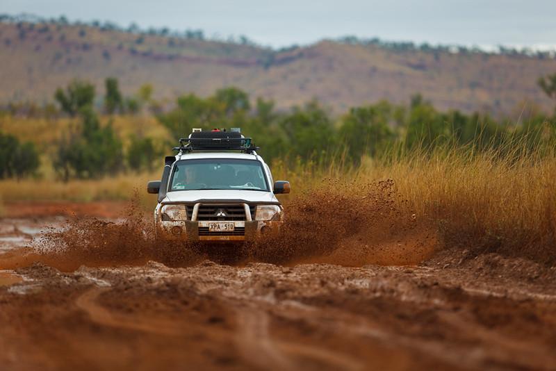 Rough road, KImberley, Western Australia, Australia