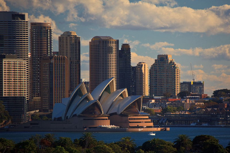 Sydney skyline, New South Wales, Australia