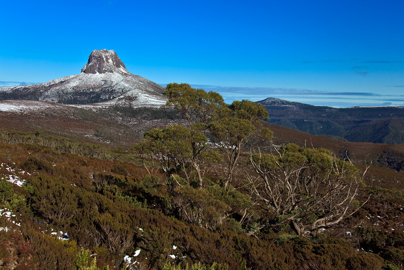 Barn Bluff, Cradle Mountain - Lake St Clair National Park, Overland Track, Tasmania, Australia