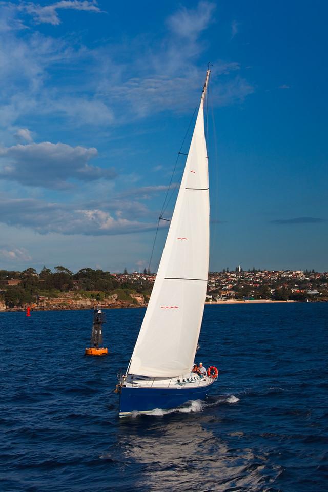 Sailing Sydney Harbor, Sydney, New South Wales, Australia