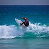 Surfer, South Trigg Beach near Perth, Western Australia, Australia