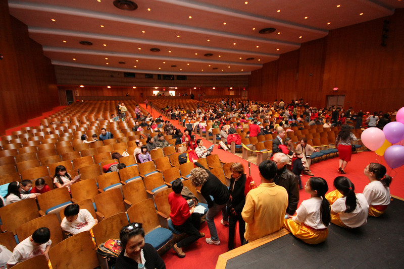 Dickenson High School auditorium  [ 2010 DCAA Chinese New Year Celebration ]