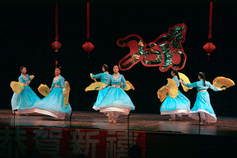 Chrysanthemum Flower Bed Performed by CACC Dance Troupe  [ 2010 DCAA Chinese New Year Celebration ]