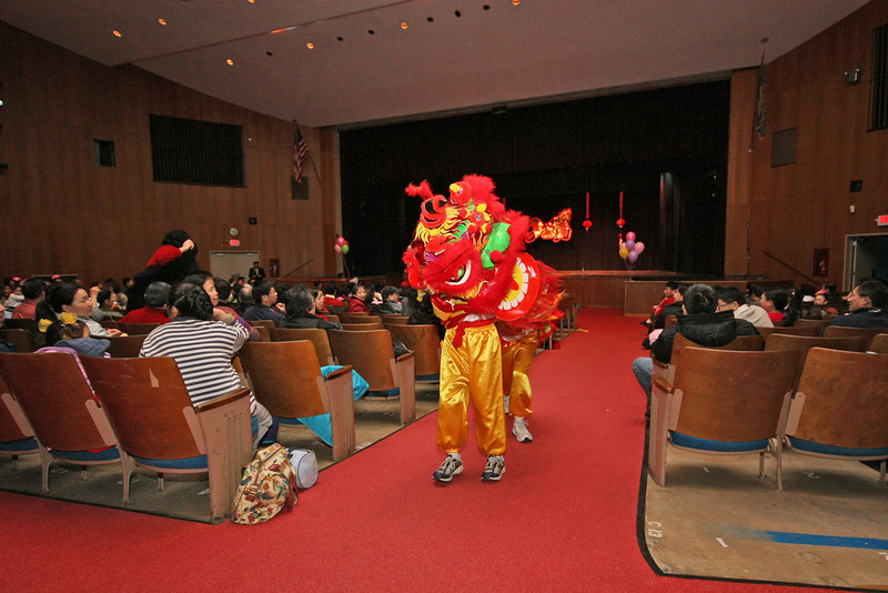 Lion Dance by the CACC Lion Dance Club  [ 2010 DCAA Chinese New Year Celebration ]