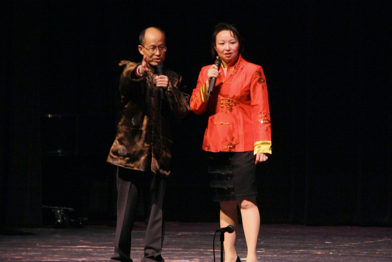 First State Community Chinese School Principal Ping Xu and DCAA Board President Jane Zhou  [ 2010 DCAA Chinese New Year Celebration ]