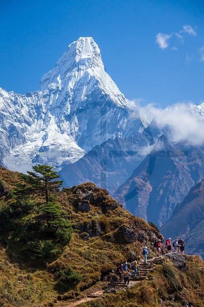 Ama Dablam, Everest Base Camp Trek, Solukhumbu District, Nepal