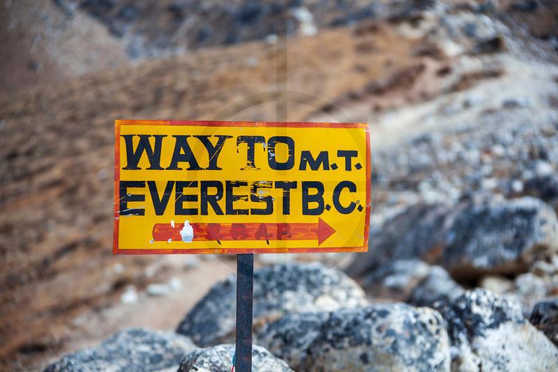 Way to Mount Everest Base Camp, Solukhumbu, Nepal