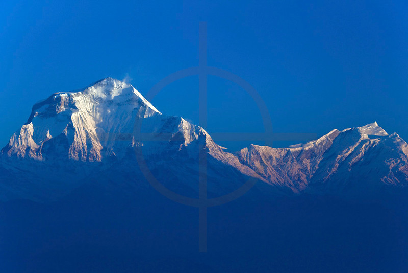 Dhaulagiri I and Tukuche Peak, Nepal