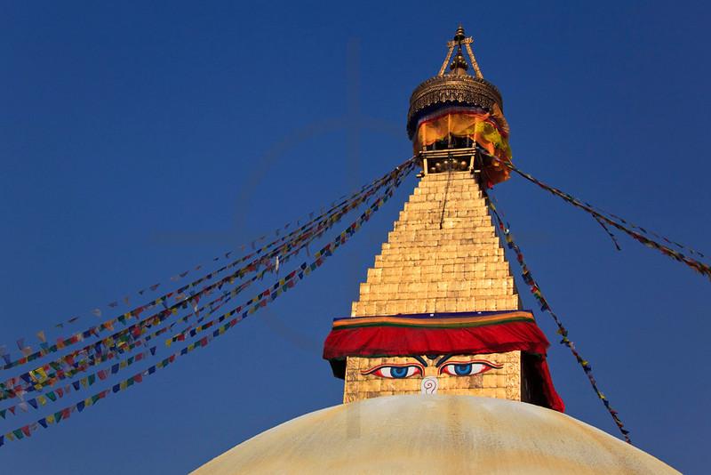 Boudhanath, Kathmandu Valley, Nepal