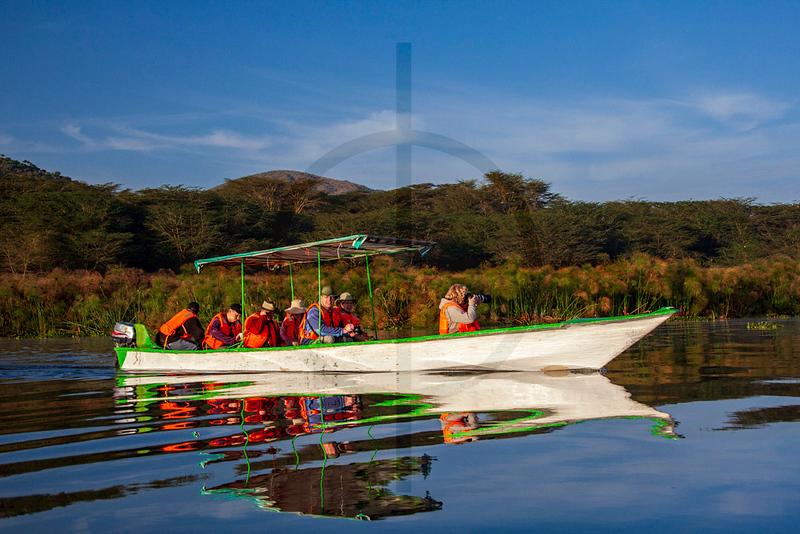 Boat ride, Lake Naivasha, Kenya