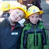 At Public Works with the Kindergarten class.