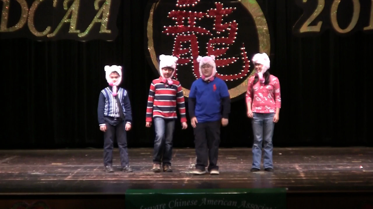 Play:  Three Little Pigs 儿童短剧  三只小猪<br /> Chun Hui Drama Class 春晖中文学校话剧班<br /> 指导老师: 苗淼, 苗歆燕