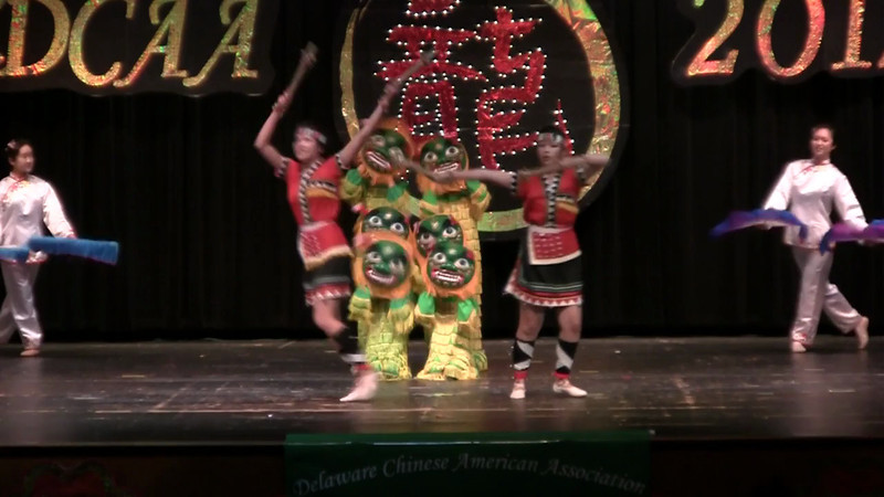 Dance: Joyous Occasion 舞蹈 欢乐时光<br /> CACC Dance Troupe, 指导老师: 张珉
