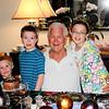 Connor, Xander, Proud Grandpa, Venice
