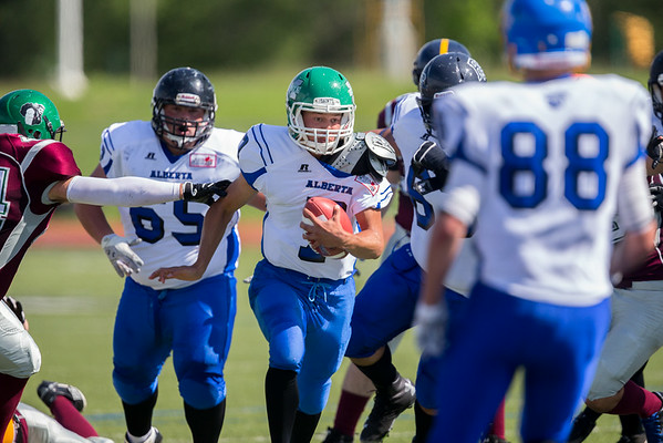 Canada Cup Football 2014 New Brunswick vs Alberta
