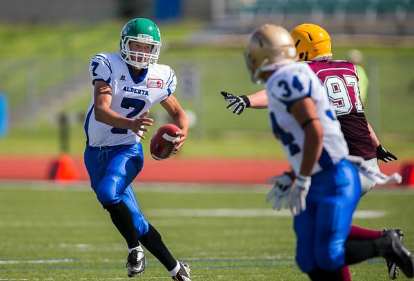 Canada Cup Football 2014 New Brunswick vs Alberta