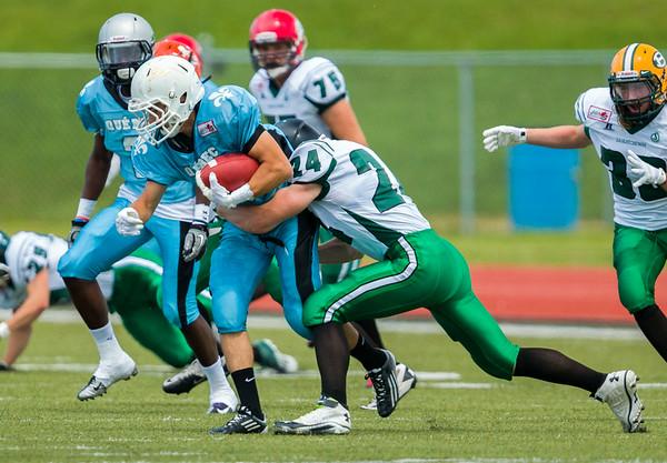 Canada Cup Football 2014 Sask. White vs Quebec