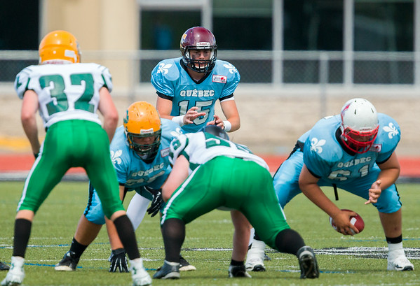 Canada Cup Football 2014 Sask. White vs Quebec