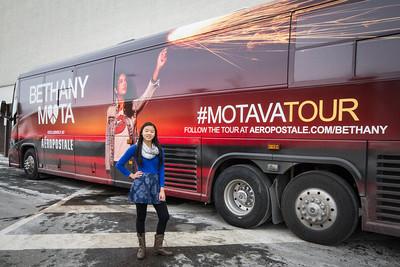 Bethany Mota MOTAVATOUR KoP