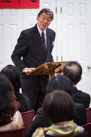 Taiwanese Ambassador Visits CACC 6/11/2014