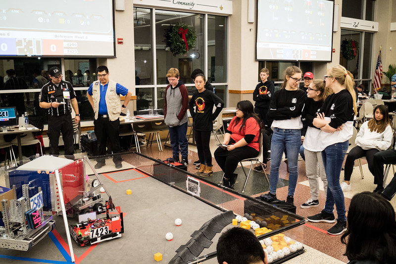 20181213 Flaming Phoenix FTC Archmere Scrimmage