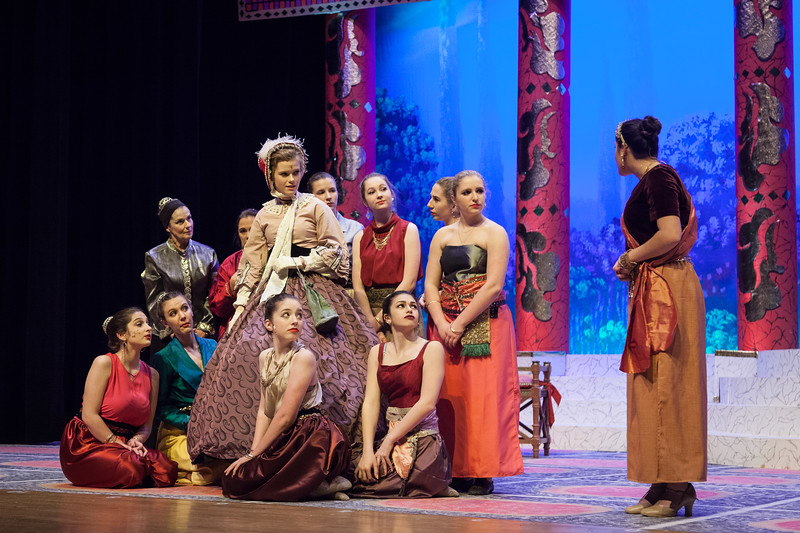 Unionville HS's The King and I, 2018