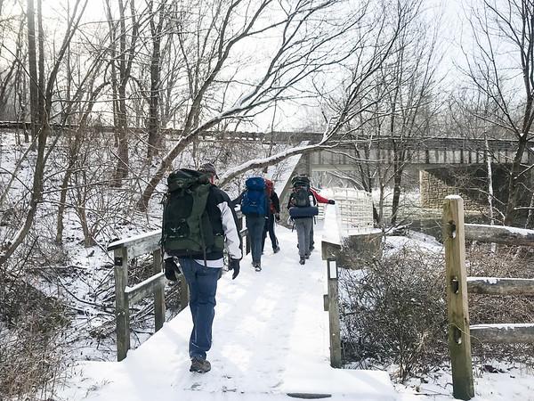 20190202 Brandywine Creek State Park Hike