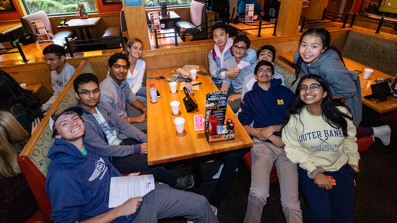 20191006 UHS Speech Debate Applebee Takeover