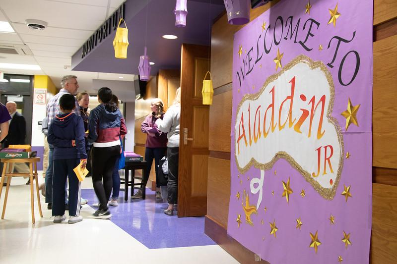 Aladdin Jr. 2020, Patton Middle School
