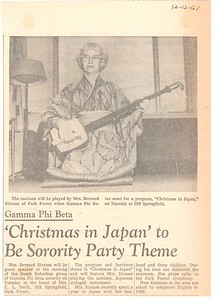 CarolSamisenNewpaperArticle1961
