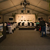 "The media room set up in a marquee tent on the tennis court at Royal Wellington Golf Club in preparation to host the Asia-Pacific Amateur Championship tournament 2017 held in Heretaunga, Upper Hutt, New Zealand from 26 - 29 October 2017. Copyright John Mathews 2017.    <a href=""http://www.megasportmedia.co.nz"">http://www.megasportmedia.co.nz</a>"