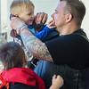 Ryan and his sons, Gavin and Julian