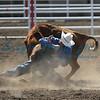 Steer Wrestler California Rodeo
