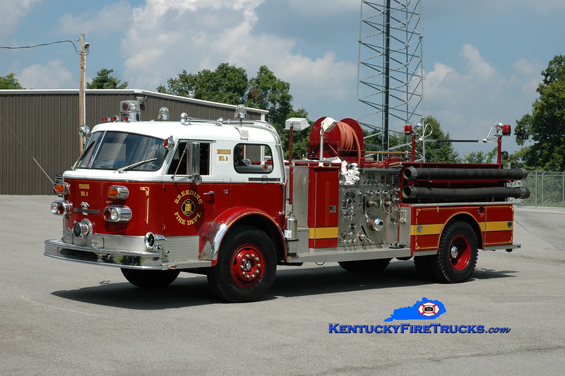 <center> Breeding  Engine 2 <br> x-Floral Park, NY; Payneville, KY <br> 1972 American LaFrance 1000/500  <br> Greg Stapleton photo </center>