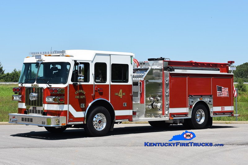 Columbia Engine 4 <br /> 2020 Sutphen Monarch 1500/1000<br /> Greg Stapleton photo