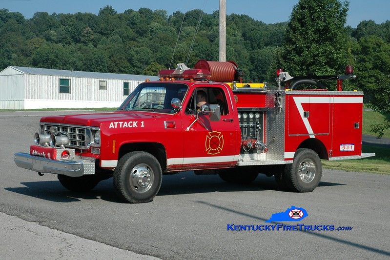 <center> Knifely  Attack 1 <br> 1978 Chevy 4x4/Pierce 400/250  <br> Greg Stapleton photo </center>
