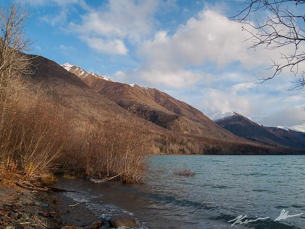 Scenery shots along Eklutna Lake