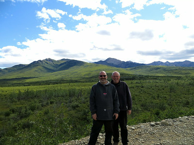 The northern border of Denali NP.