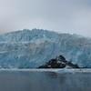 Panoramic of Aialik Glacier