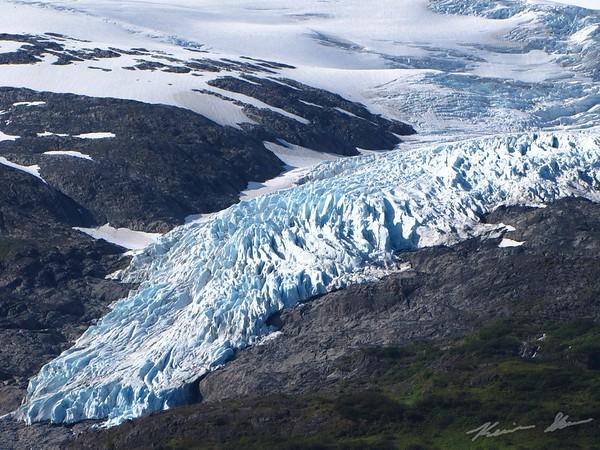 Northland Glacier looms ahead