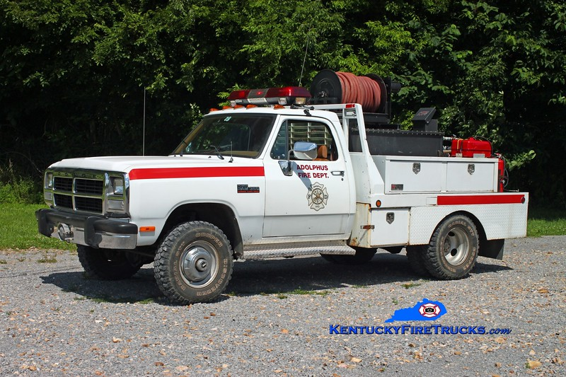 <center> Adolphus  Brush 83 <br> 1992 Dodge 350 4x4/Local 250/250 <br> Kent Parrish photo <br> </center>