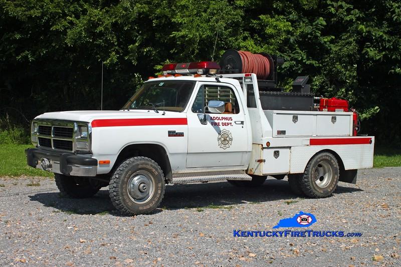 <center> Adolphus  Brush 83 <br> 1992 Dodge 350 4x4/Local 250/250 <br> Kent Parrish photo <br> </center>